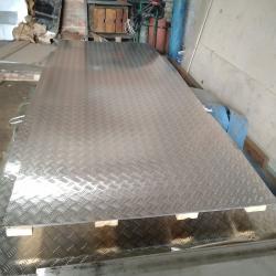 Лист алюминиевый рифленый 3,0 мм