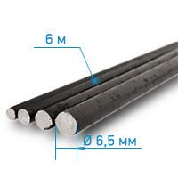 Арматура а1 6,5 мм (длина 6м)