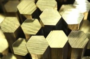 Латунные шестигранники