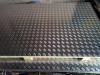 Лист алюминиевый рифленый 1,5 мм сбоку