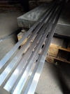 Уголок алюминиевый 25x25